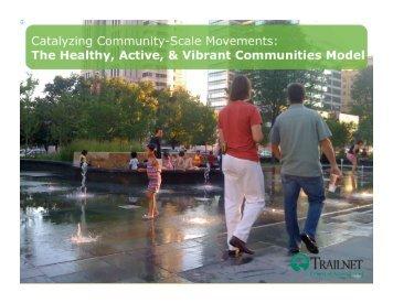 The Healthy, Active, & Vibrant Communities Model