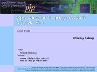 Wprowadzenie do programowania w języku C++