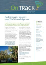 Issue 1 - TRaCK: Tropical Rivers and Coastal Knowledge