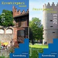 Flyer Kreativpark - Pausenpark - Stadt Ravensburg