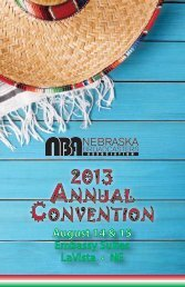 2013 Registration Packet - Nebraska Broadcasters Association