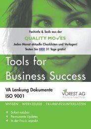 QUALITY MO ES VA Lenkung Dokumente ISO 9001 - Vorest AG