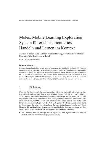 Download - Institut für Multimediale und Interaktive Systeme ...