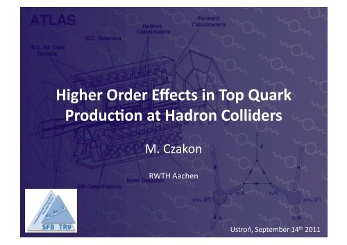 Higher order effects in top quark production at hadron colliders.