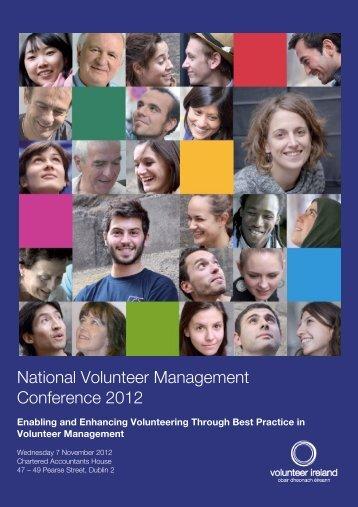National Volunteer Management Conference 2012 - The Wheel