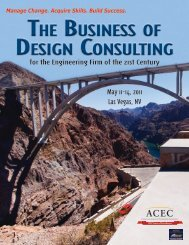 The Business of Design ConsulTing - American Council of ...