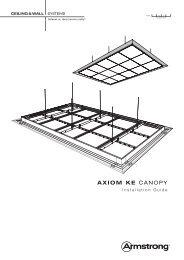 Axiom Knife Edge Canopy - Armstrong