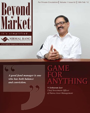 Beyond Market - Issue 62 - Online Share Trading