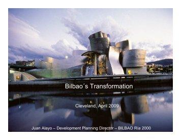 Bilbao´s Transformation - Cleveland State University