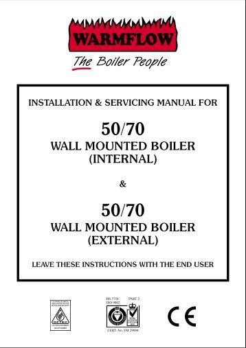 Boiler: Ravenheat Boiler Manual
