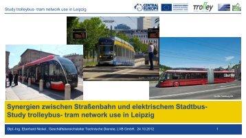 EU-Projekt Trolley: Auszug aus der ... - TrolleyMotion