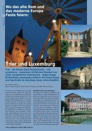 Trier und Luxemburg - Birseck Magazin
