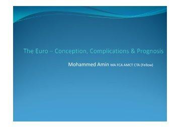 slides on this website for download - Mohammed Amin's website