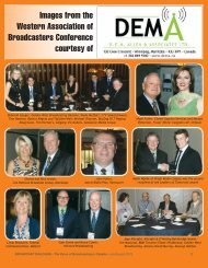 Images from the Western Association of Broadcasters Conference ...