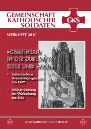 Werkheft2010.pdf - Gemeinschaft Katholischer Soldaten