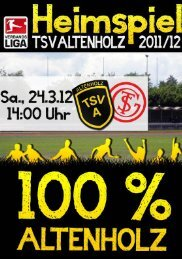 22.03.2012 TSV Altenholz -  Marco Kuhlmann
