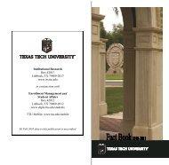 Campus Map - Undergraduate Admissions - Texas Tech University on