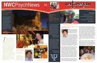 2011 Psych Newsletter (Original) - Northwestern College