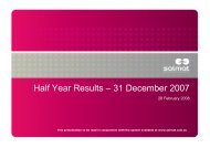 2008 Half Year Results Presentation - Salmat