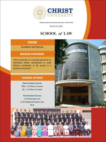 to download Brochure - Christ University