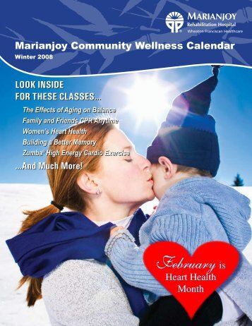 February is February is - Marianjoy Rehabilitation Hospital