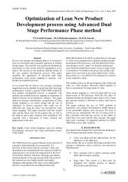 Optimization of Lean New Product Development process using ...