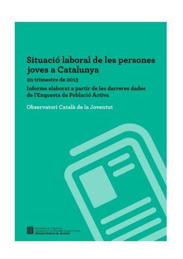 Situació d'activitat - Generalitat de Catalunya