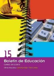 Boletin Educacion 2012 - Juventud - Ayuntamiento de Tres Cantos