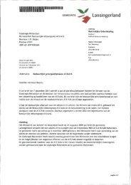 A13 2012-05-21 Bijlage 1A brief B&W gemeente Lansingerland