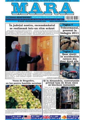 Descarca nr. 1313 - Ziarul Mara