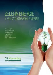 ZELENÁ ENERGIE - GB Consulting, s.r.o.