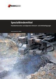 GEOROC Produkteübersicht (PDF-Datei, 785 KB) - Holcim Schweiz