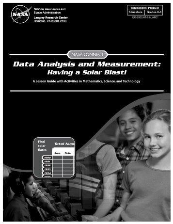 Data Analysis & Measurement: Having a Solar Blast pdf - ER - NASA