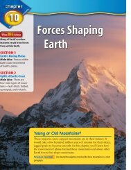 Forces Shaping Earth - Monroe County Schools