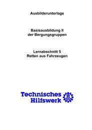 Retten aus Fahrzeugen - THW Ortsverband Eschweiler