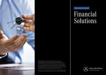 Finance Brochure (436 KB, PDF) - Mercedes-Benz