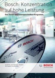 PDF herunterladen - Bosch