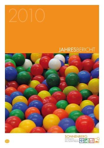 Jahresbericht 2010 - SONNENBERG