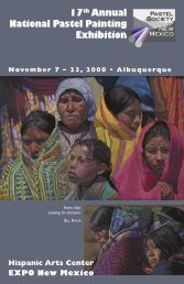 View the 2008 PSNM National Exhibition Catalog - Pastel Society of ...