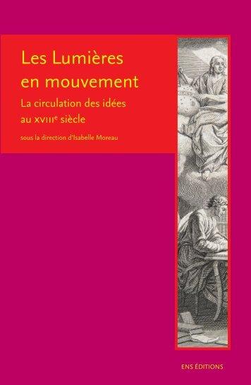 Les Lumières en mouvement - Voltaire Foundation