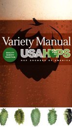 HGA Variety Manual - English (updated March 2011)