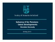 130509 Solvency II - latest developments in Pensions.pdf