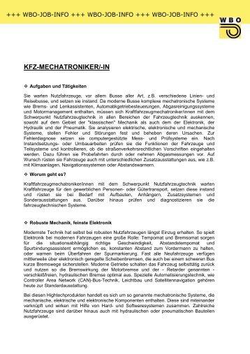 KFZ-MECHATRONIKER/-IN