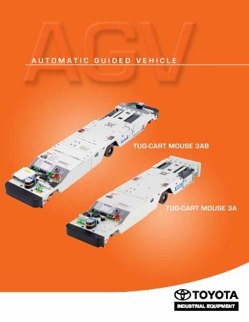 automatic guided vehicle - Toyota Material Handling, U.S.A., Inc.