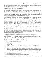 Tansania-Projekt 2012.Bewerbungsschreiben - Liebfrauenschule ...