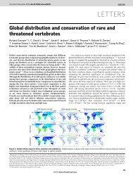 Grenyer et al., Nature 2006 (pdf)