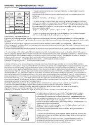 Exercícios de consolidação - Fernando Santiago dos Santos