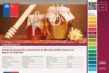 Estudio de Aceptación y Penetración de Mercado de Miel ... - Fia