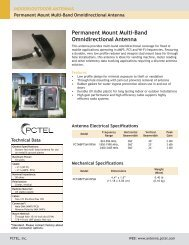 Permanent Mount Multi-Band Omnidirectional Antenna - Diltronic
