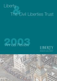 Liberty Annual Review 2003